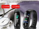 Смарт фитнес браслет трекер умные часы реплика Xiaomi Mi. .. - фото 5