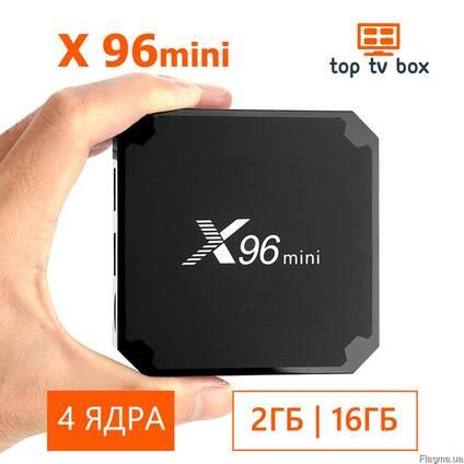 Смарт ТВ Приставка для телевизора X96 Mini TV Box 2GB\16GB