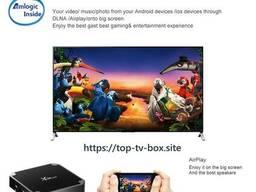 Смарт ТВ Приставка для телевизора X96 Mini TV Box 2GB\16GB - фото 3