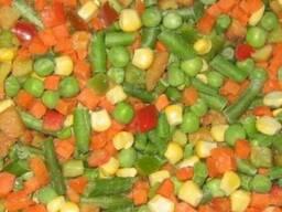 Смесь мексиканская состав- морковка кубик, фасоль стручковая