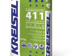 """Смесь самовыравнивающаяся """"-411"""" """"Kreisel"""" 25 кг (5-35мм)"""