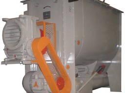 Смеситель ЗМГ-4000, смешивание сыпучих и комбикормов