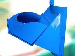 Завантажувальний клапан сміттєпроводу (сміттєприймач)
