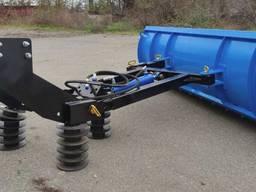 Снегоуборочная лопата (отвал) на трактор мтз, юмз лопата для снега, отвал для снега.