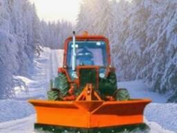 Снегоуборочный отвал бабочка 1. 7м и 2. 1м