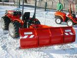 Снегоуборочный отвал для минитракторов ZR-M - фото 1
