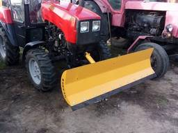 Снегоуборочный отвал к мини тракторам МТЗ 320 ДТЗ Foton lovo