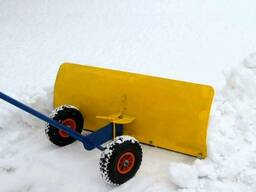 Снегоуборочный отвал ручной (снегоочиститель)