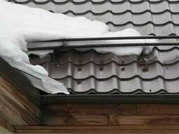 Снегозадержатели трубчатые для кровли