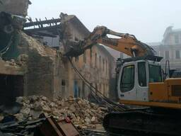 Снос и демонтаж домов Одесса