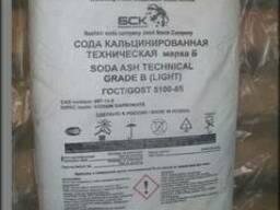 Сода кальцинированная марка А, Б