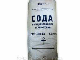 Сода кальцинированная в мешках