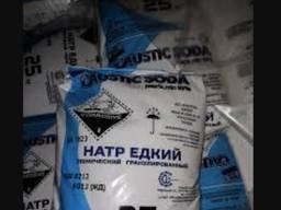 Сода каустическая (едкий натр, гидроксид натрия, натриевая щ