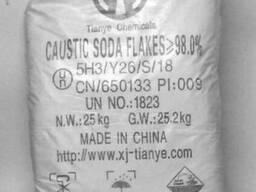 Сода каустическая, натрий гидроокись (чешуйка), от 1000кг