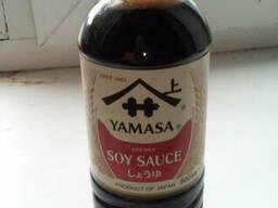 Соевый соус Ямаса Yamasa, натурального брожения, 500мл. ..