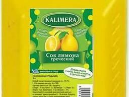 Сок лимона с Греции 4л
