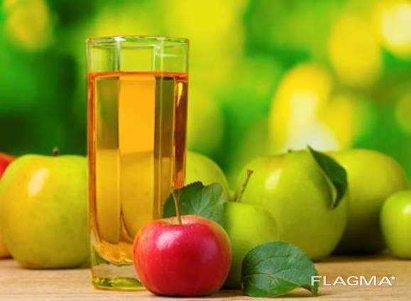 Сок яблочный концентрированный с кислотсностью не менне 2,8