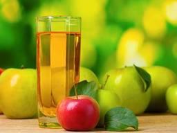 Сок яблочный концентрированный с кислотсностью не менне 2, 8