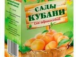 "Соки ТМ ""Сады Кубани"" тетрапак с крышкой, 1л"