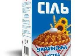 Соль Екстра фасованная Словянская б/п 1кг