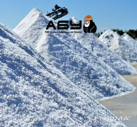 Соль техническая для посыпки дорог, фасовка, Киев (доставка)