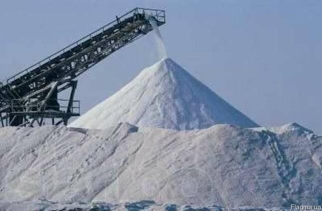 Соль техническая для посыпки дорог, сіль технічна вагонними