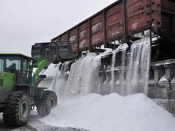 Соль техническая навал (для посыпки дорог) вагоны