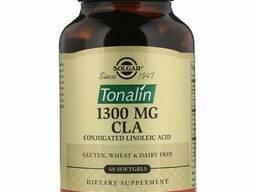 Solgar Tonalin CLA, 1300 mg, 60 Softgels Тоналин КЛК