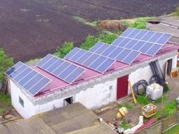 "Солнечная электростанция 10 кВт, ""Зеленый тариф"" ""под ключ"""