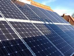 Солнечная электростанция мощностью 25КВт