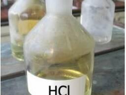 Соляна кислота тех 12% - 15%, хч 36%