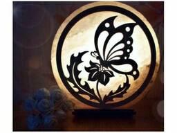 Соляная лампа Бабочка