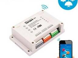 Sonoff 4CH 10А 2200W 4-Канальный WiFi выключатель Smart