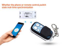 Sonoff RF WiFi выключатель Smart модуль реле 220V с пультом