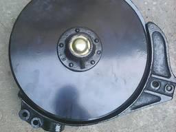 Сошник в сборе со смещением с клеймом VET (сталь 65Г)