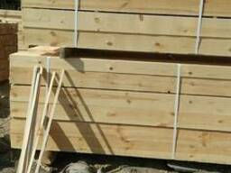 Сосновый пиломатериал, брус, доска, рейка, паллетная заготов