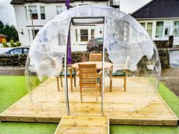 SotaDome 3.6 - поликарбонатный купол для кафе, ресторанов