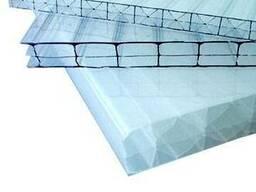 Сотовый Поликарбонат 16мм прозрачный