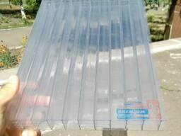Сотовый поликарбонат 25мм Carboglass, прозрачный