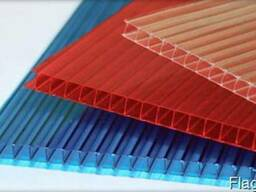 Сотовый поликарбонат 4 мм,6мм,8мм,10мм в наличии