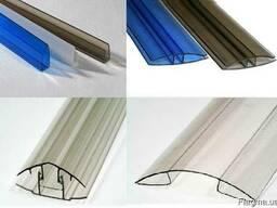 Профиль для монтажа сотового поликарбоната