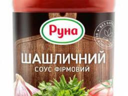 Соус Шашлычный фирменный Украинский б. к. Руна 485г
