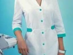 Современные халаты для работников медицины