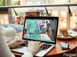 Создание сайта-визитки или корпоративного сайта для бизнеса