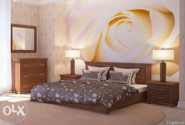 Спальні із масиву дуба