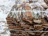 Доставка дров на поддонах, краном манипулятором - фото 1