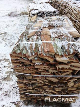 Доставка дров на поддонах, краном манипулятором