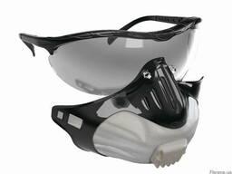 Специальный фильтр-защитные очки и фильтрующая полумаска