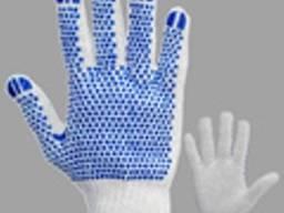 Спецодежда. Средства защиты рук (перчатки, рукавицы х/б, брезент)