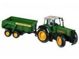 Спецтехника Same Toy Tractor Трактор с прицепом (R975-1Ut)